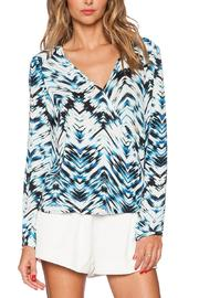 Karina Grimaldi Waveland Surplice Top - Product Mini Image