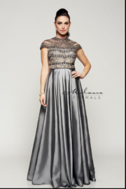 Milano Formals E2103 - Milano Prom Dress - Front cropped