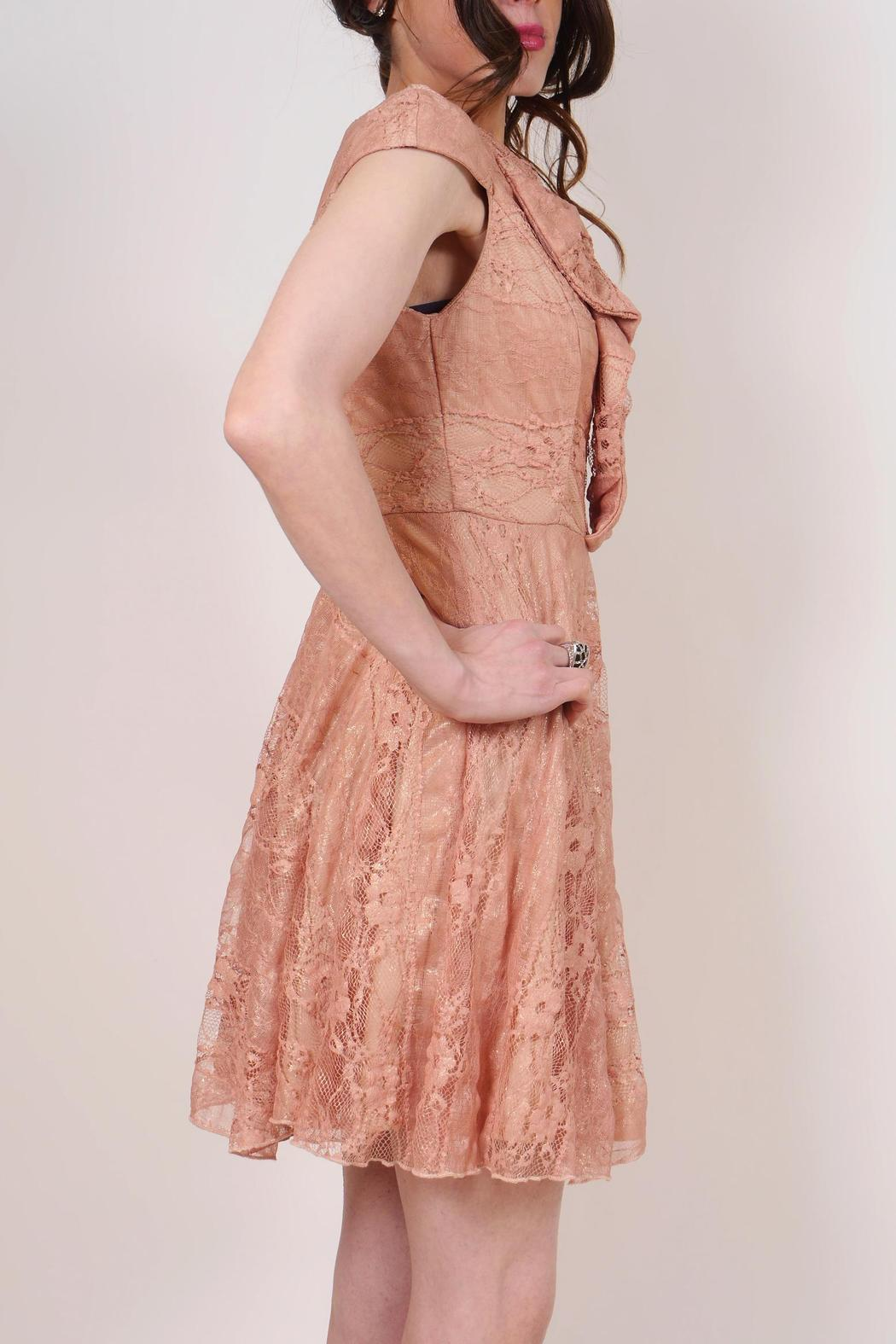 Coconinno Babydoll Bee Dress - Side Cropped Image