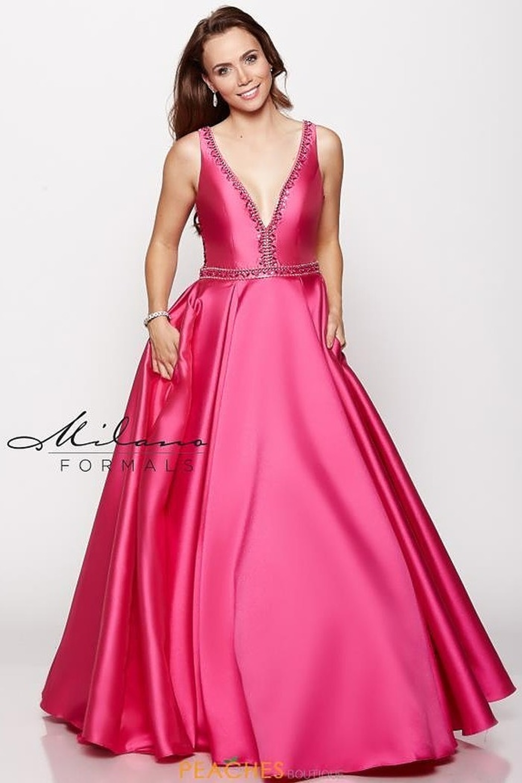 Milano Formals E2165 - Dress - Front Cropped Image