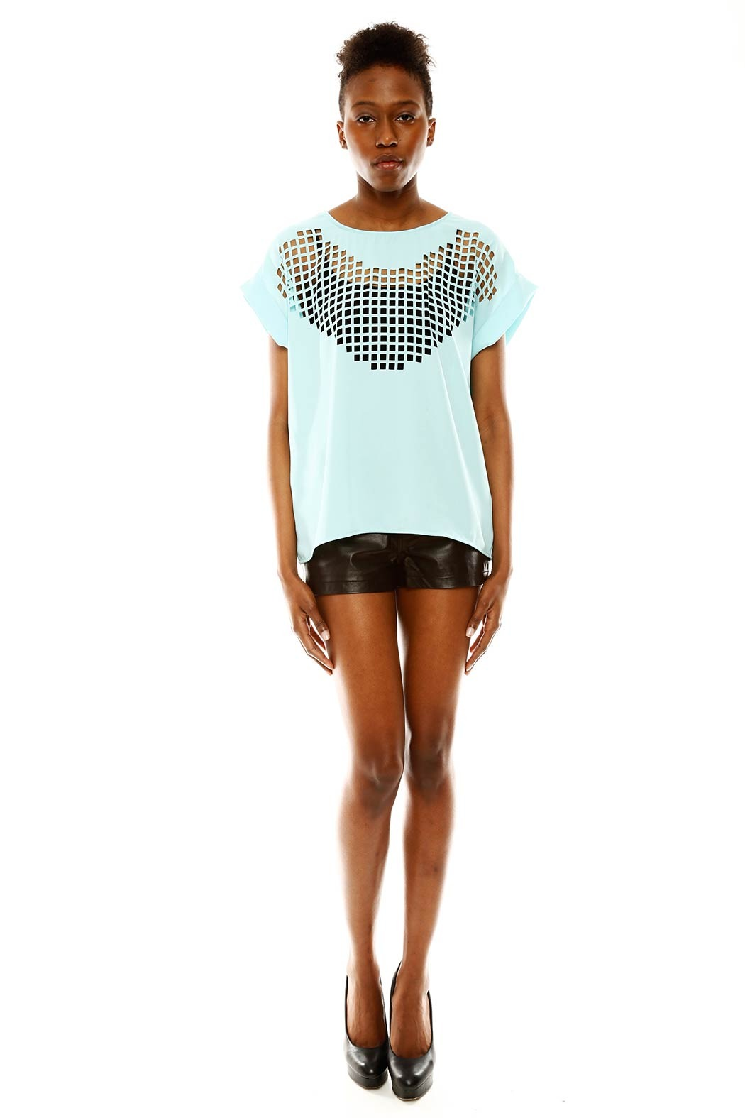 Maude Cutout Top - Front Full Image