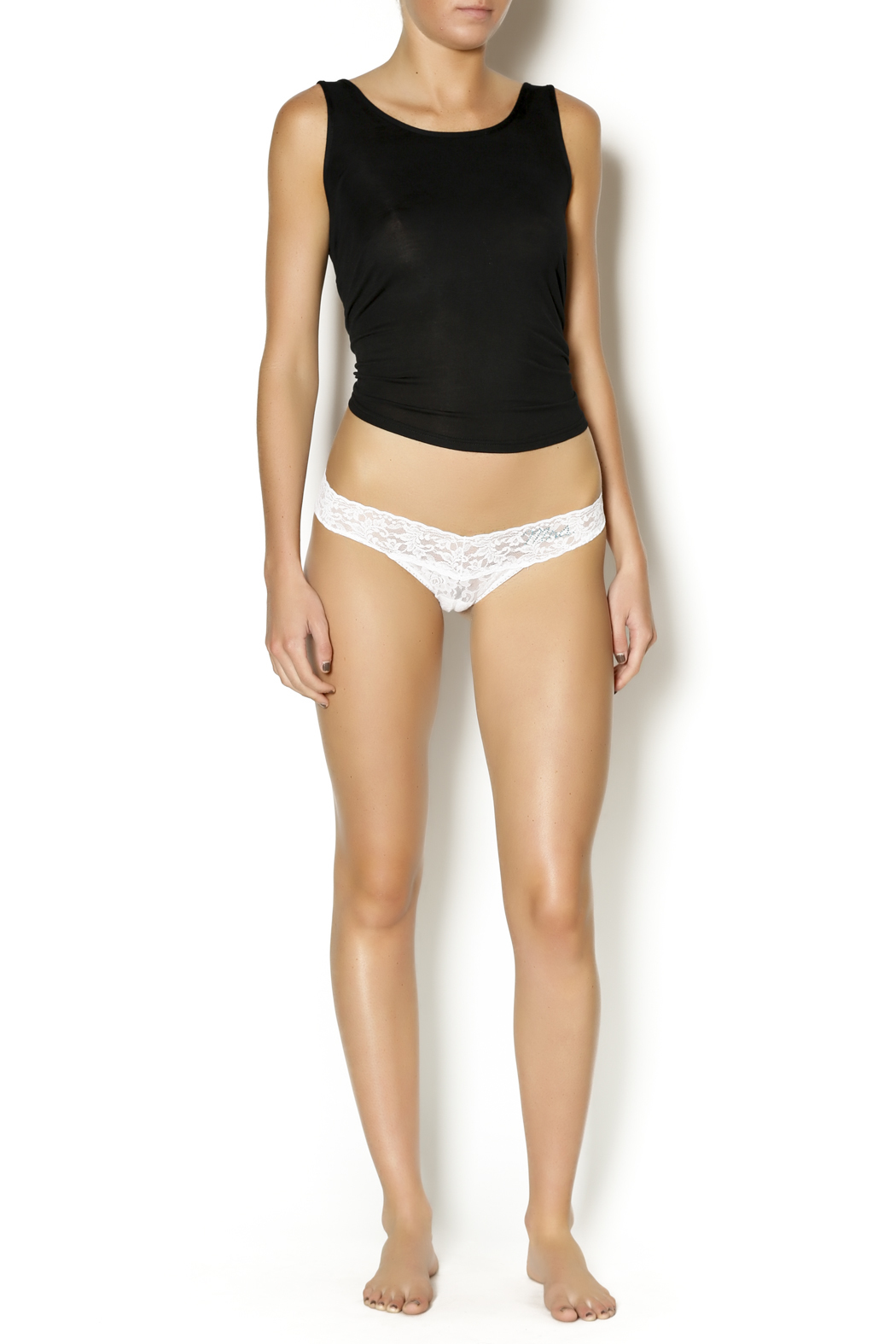 Hanky Panky Mrs. Low-Rise Thong - Front Full Image