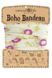 Natural Life Boho Bandeau Cream - Product Mini Image