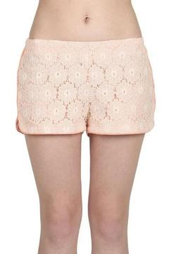Blu Pepper Lace Jogger Short - Product List Image