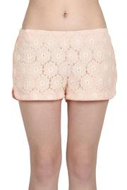 Blu Pepper Lace Jogger Short - Product Mini Image