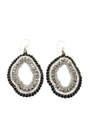 Ananda Handcrafted Crystal Earrings - Product Mini Image