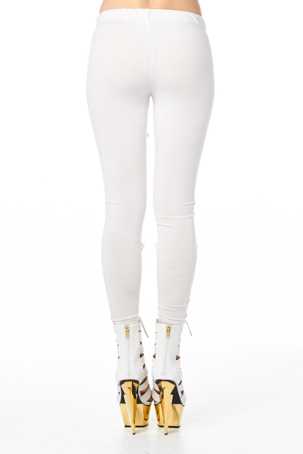 TOV H White Headliner Legging - Side Cropped Image