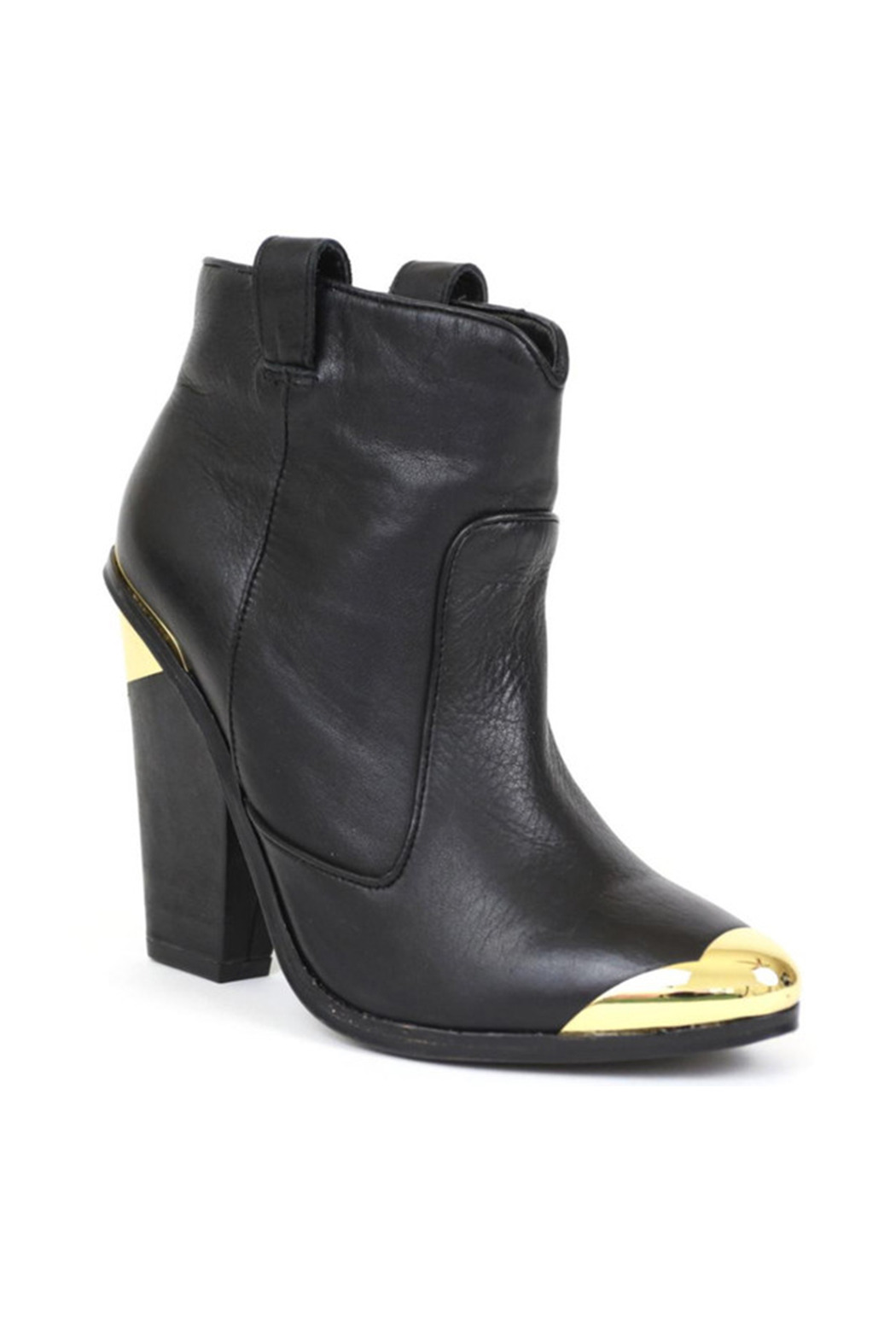 Dolce Vita Kitt Black Bootie - Front Cropped Image