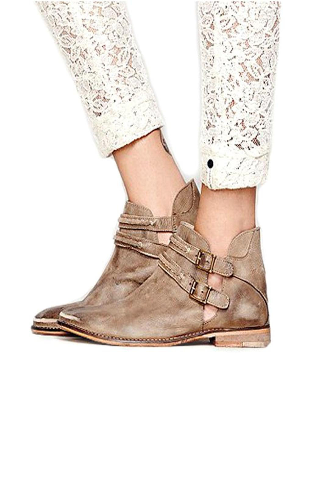 Free People Braeburn Ankle Bootie From Lafayette By