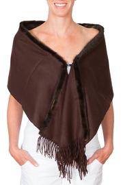 CLAIRE FLORENCE Chocolate Mink Travel - Front cropped
