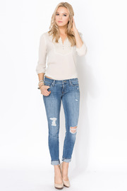 Shoptiques Product: Shya Torch Torn Skinny - Front full body