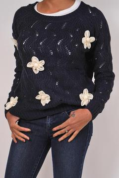 Alythea Chunky Flower Sweater - Product List Image