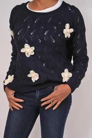 Alythea Chunky Flower Sweater - Product Mini Image