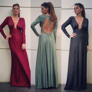 Shoptiques Wine Maxi Dress