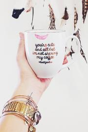 Lux Livelifeinlux Coffee Mug - Front cropped