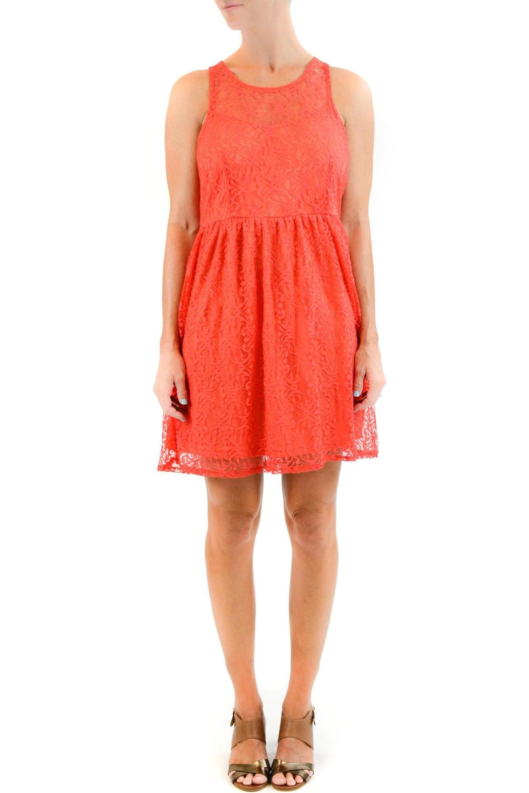 Aryeh Red Lace Dress from Indiana by Flutter — Shoptiques