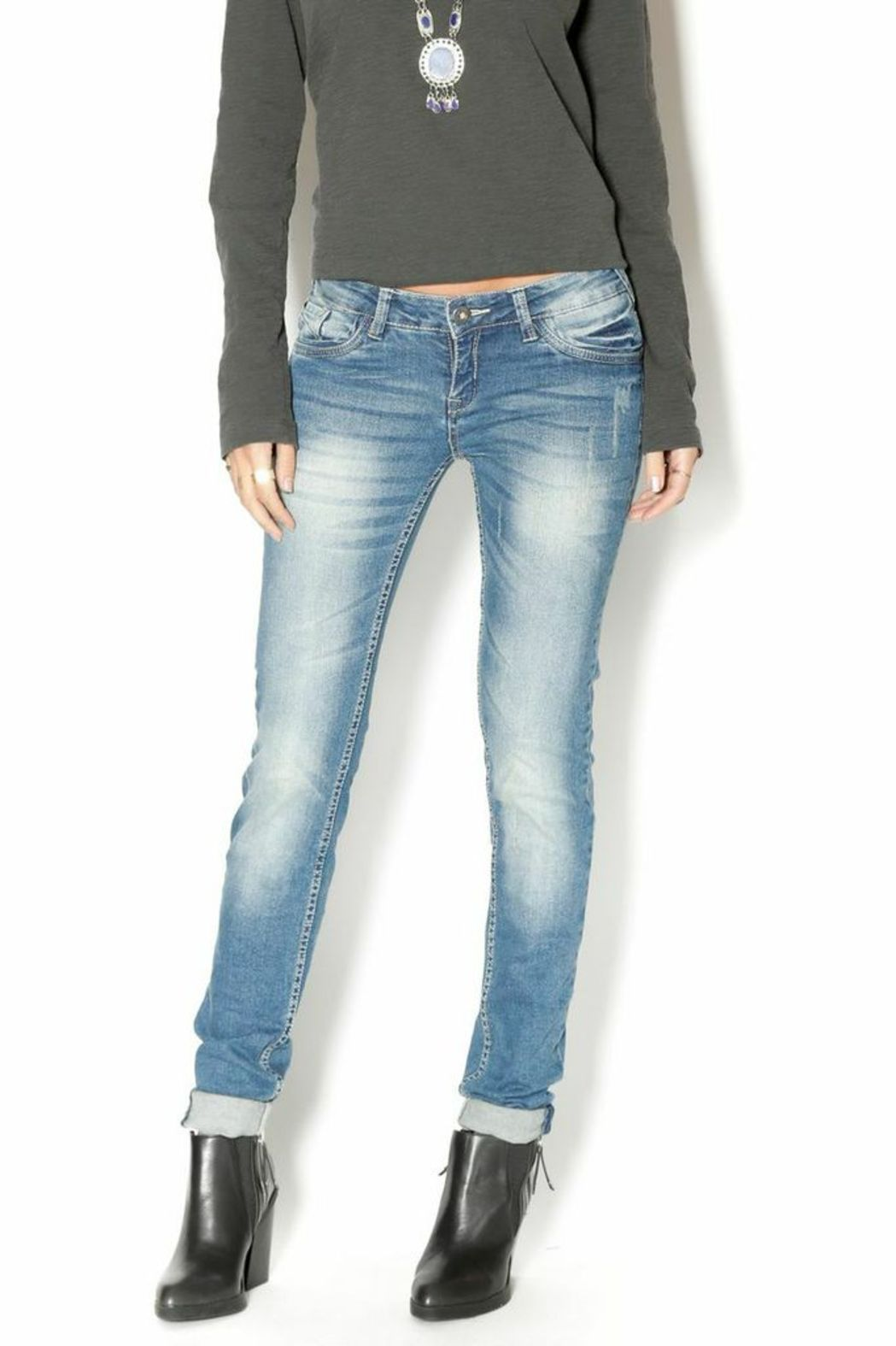 Sublevel Skinny Stretchy Jeans - Main Image