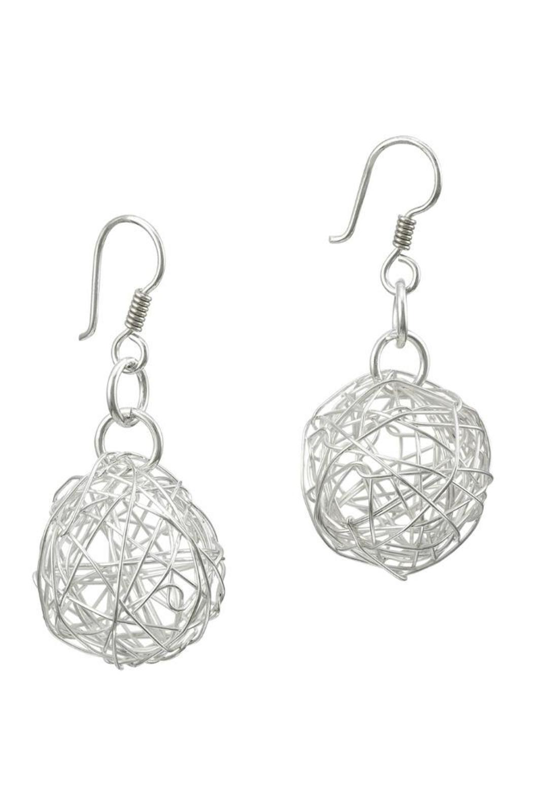 Pavel Perez Wire Ball Earrings - Main Image