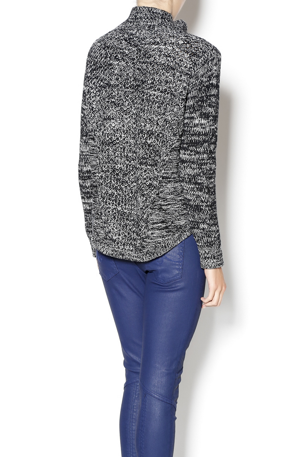 525 America Stacey Sweater - Back Cropped Image