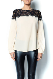 A'reve Lace Top - Front cropped
