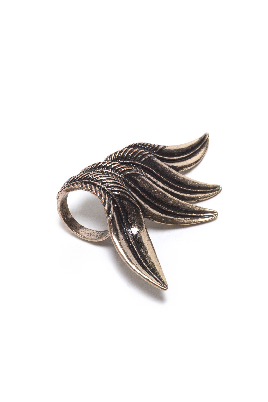 Number A Ultimate Feather Ring - Front Full Image