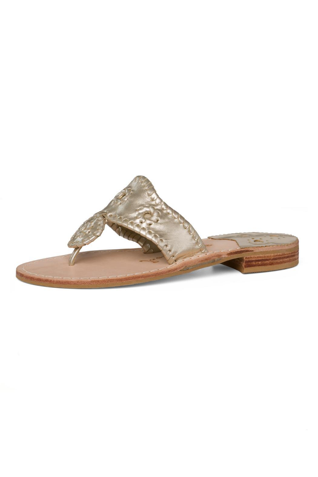 e24a81268d01ad Jack Rogers Platinum Sandal from South Carolina by Baehr Feet Shoe ...
