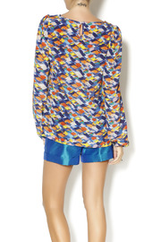 By Smith Monet Multicolor Blouse - Back cropped