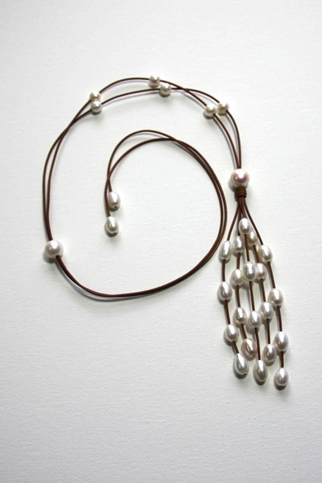 Lily Chartier Pearls Waterfall Necklace - Main Image