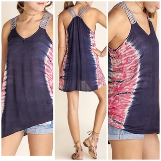 Shoptiques Product: Summer Tank Top Print