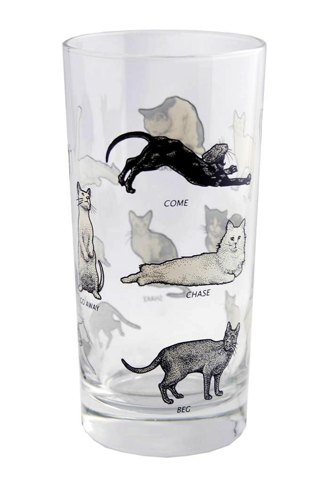 Disobedient Cat Glass from Philadelphia by Hello World ...