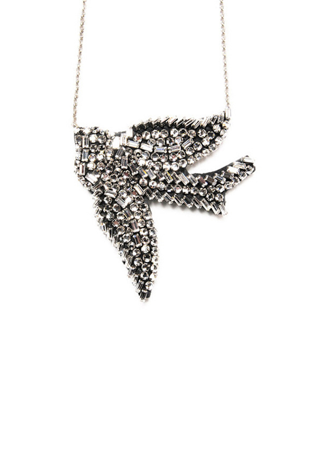 products miss rhinestone a necklace bird shop
