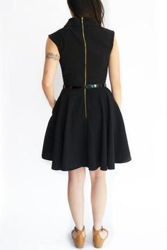 Closet Belted Black Dress - Alternate List Image