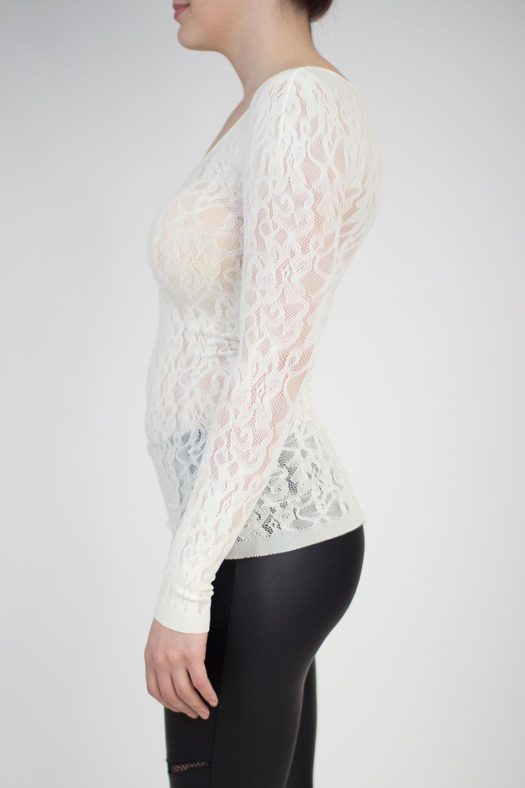 Seamless Lace Top
