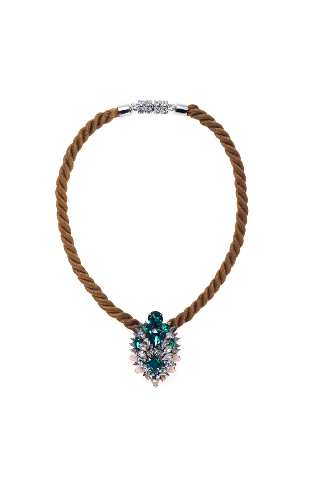 Shourouk Ivana Necklace - Front Cropped Image