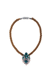 Shourouk Ivana Necklace - Front cropped