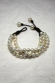 Lily Chartier Pearls Triple Strand Bracelet - Front cropped