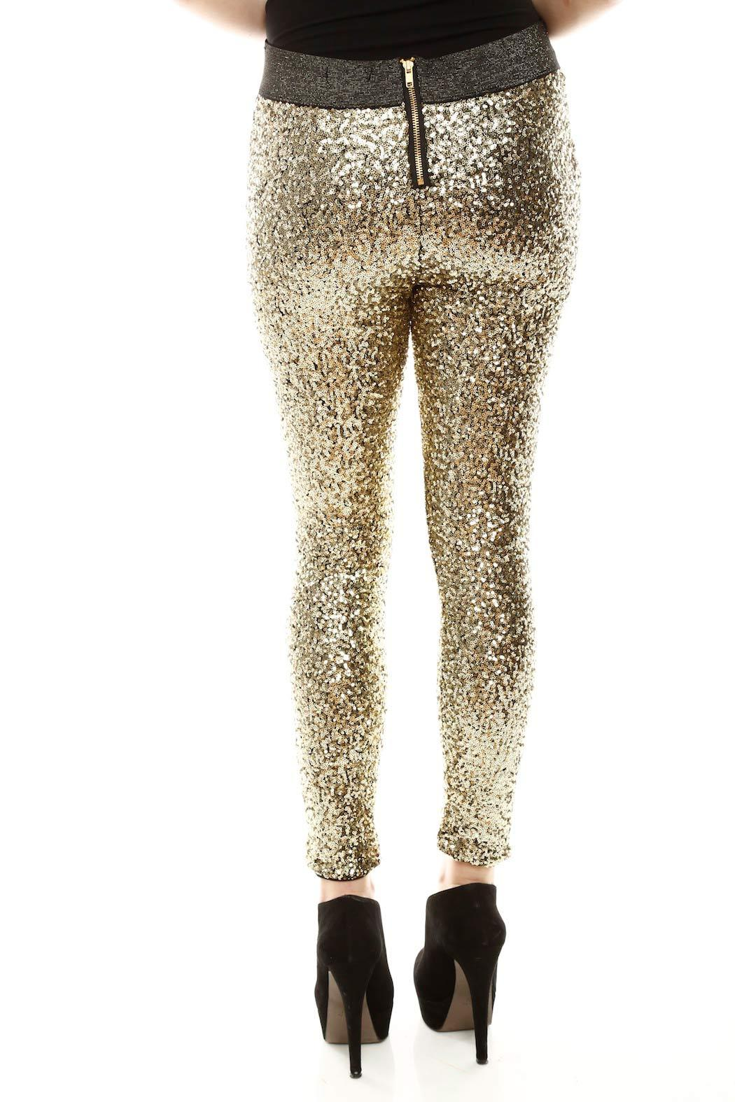 Do & Be Sequin Leggings - Back Cropped Image