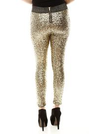 Shoptiques Product: Sequin Leggings - Back cropped