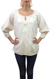 Nativa Embroidered Mexican Blouse - Product Mini Image