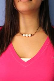 Lily Chartier Pearls Triple Pearl Necklace - Other