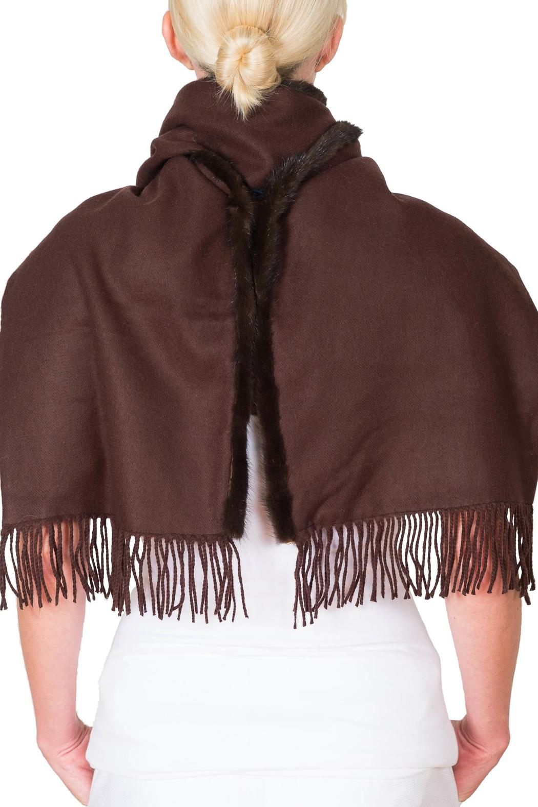 CLAIRE FLORENCE Chocolate Mink Travel - Back Cropped Image