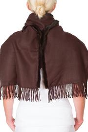 CLAIRE FLORENCE Chocolate Mink Travel - Back cropped
