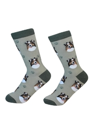 E & S Pets Australia Shepherd Socks - Product Mini Image