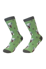 E & S Pets Wheaton Terrier Socks - Product Mini Image
