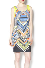 Laundry multicolored tank dress - Product Mini Image