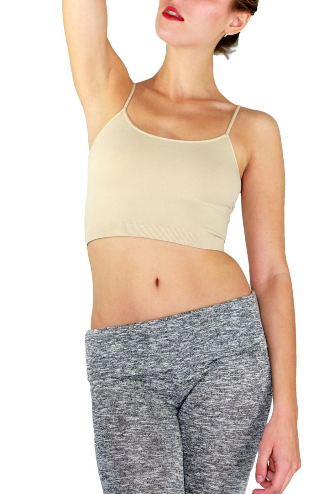 Nikibiki Seamless Crop Top - Front Cropped Image