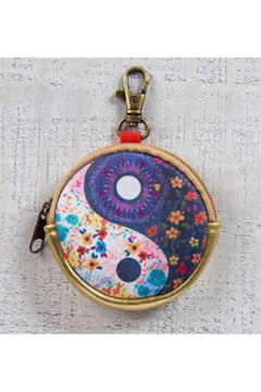 Natural Life Ear Bud Pouch Yin Yang - Alternate List Image