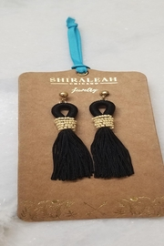 Shiraleah Long Tassel Earring - Product Mini Image