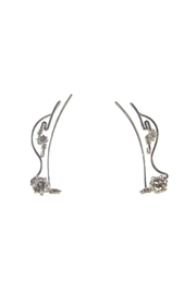 The Ear Vine Ear-Vine Sterling-Silver Cz's - Product Mini Image