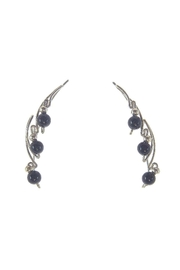 The Ear Vine Ear-Vine Sterling-Silver Onyx - Product Mini Image